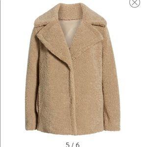 NWOT Faux Fir Jacket XL